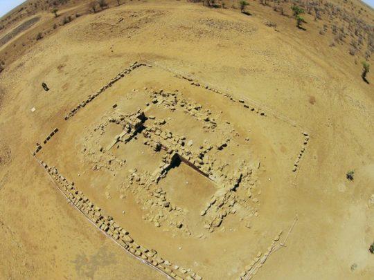 Bird's eye view of Temple 1200