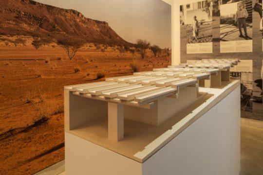 Schnittmodell des Naga-Museums auf der Architektur-Biennale