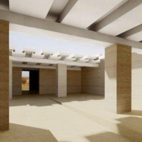 Offener Hof des Naga Museums