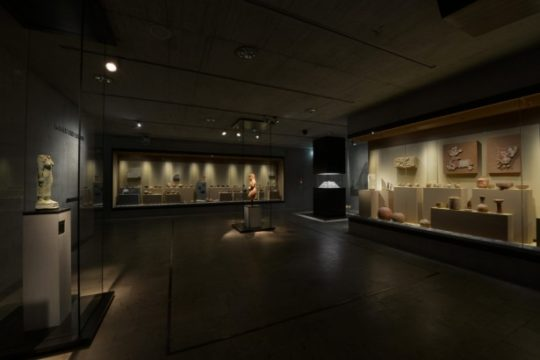 "View of the room ""Nubia and Sudan"" in the State Museum of Egyptian Art"