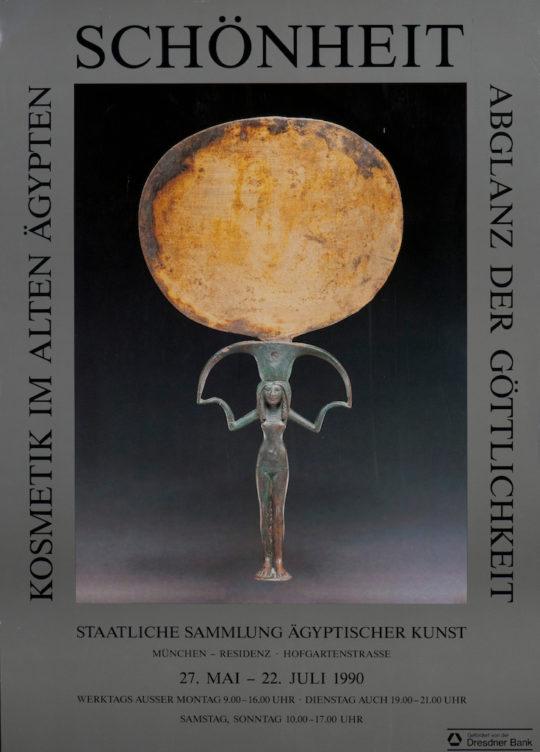 Plakat der Ausstellung Schönheit - Abglanz der Göttlichkeit.