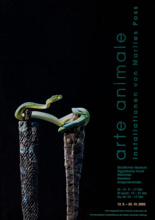 Plakat der Ausstellung arte animale