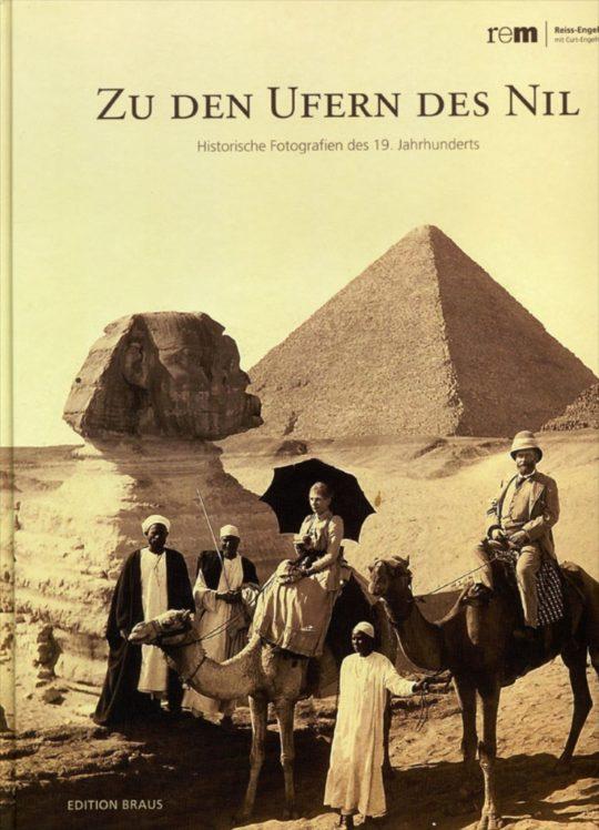 Plakat der Ausstellung Zu den Ufern des Nil.