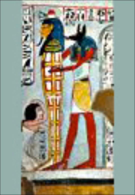 Plakat der Ausstellung Tor zum Jenseits