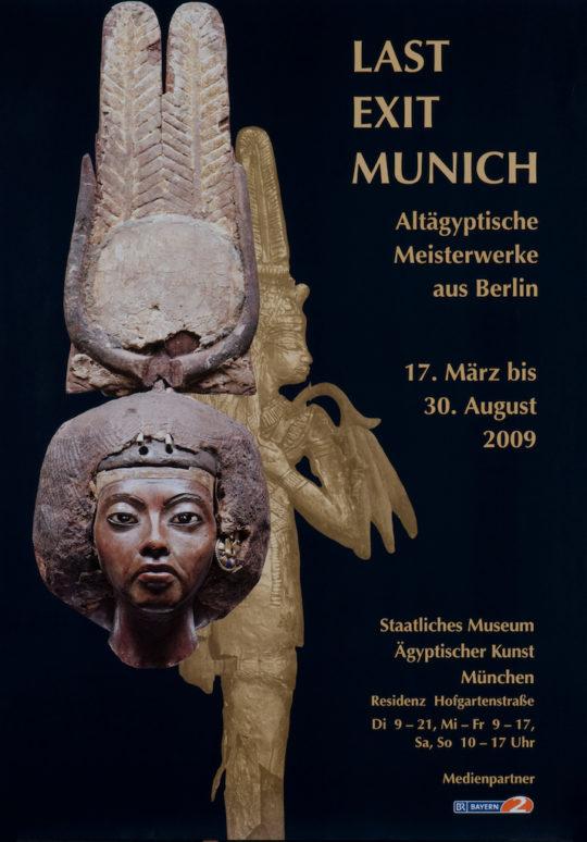 Plakat der Ausstellung Last Exit Munich
