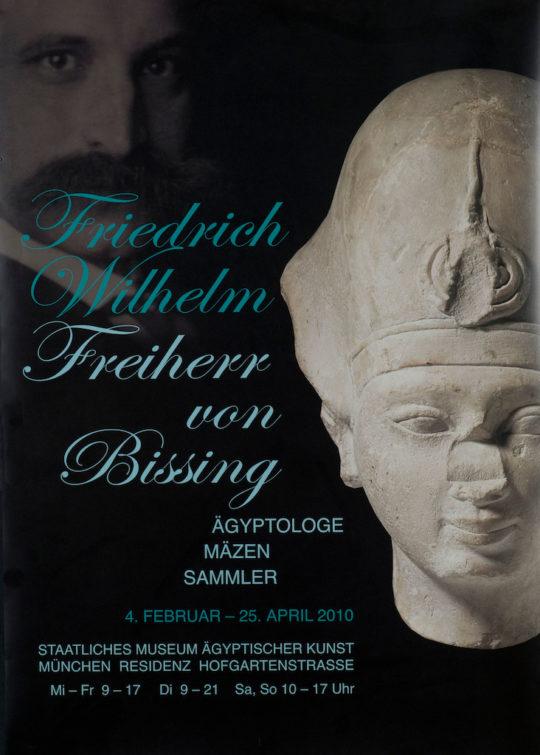 Plakat der Ausstellung Friedrich Wilhelm von Bissing