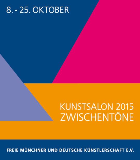 Plakat der Ausstellung Kunstssalon 2015