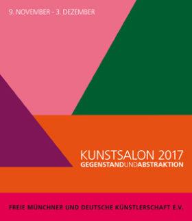 Plakat der Ausstellung Kunstssalon 2017