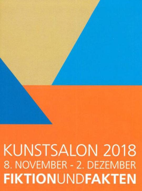 Ausstellungsplakat Kunstsalon 2018