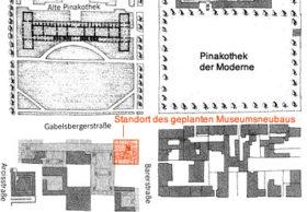 Standort des geplanten Museumsneubaus