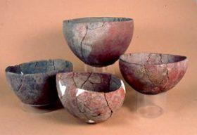 Mehr als 6000 Jahre sind diese Gefäße alt, die in der Zwischenzeit ihren Platz im Nubienraum des Museums gefunden haben.