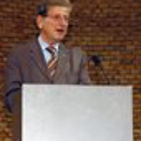 Dr. Thomas Goppel, Bayerischer Staatsminister für Wissenschaft, Forschung und Kunst