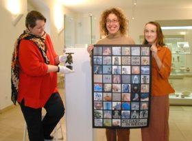 von links: Dr. Sylvia Schoske, Stefanie Dietz M. A., Coco Schoske