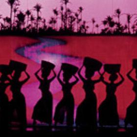 Plakat-Ausschnitt des Musicals AIDA