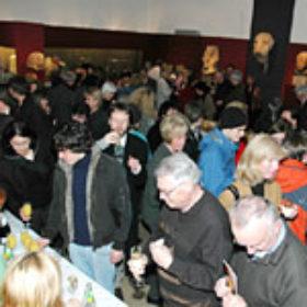 Buffet der Ausstellungseröffnung