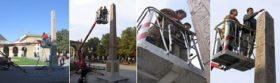 Untersuchung des Obelisken