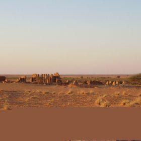 Ansicht des Amun-Tempels von Norden (2006) / View of the Amun Temple from the North (2006)