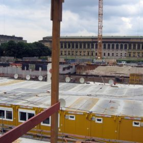 Überblick über das Gelände zur Alten Pinakothek Überblick über das Gelände zur Alten Pinakothek