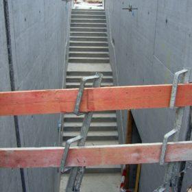 Treppe aus der Dauerausstellung