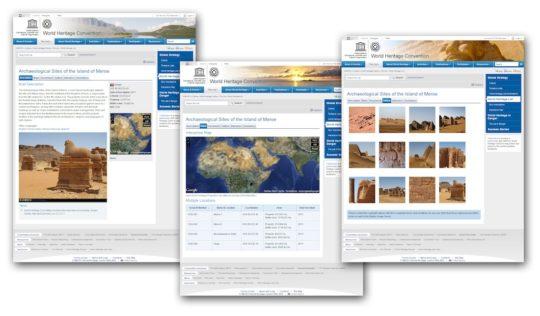 Webseite der UNESCO