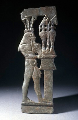 Nilgott, Bronze, Spätzeit, 700-500 v. Chr.