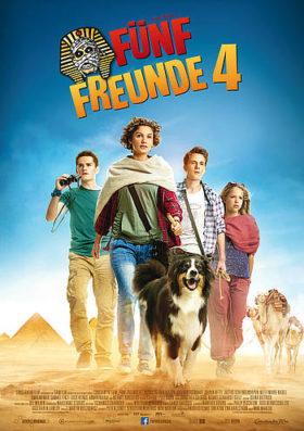 Filmplakat Fünf Freunde 4