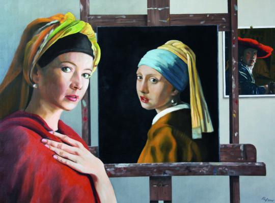 Gemälde Ruf der Jahresausstellung