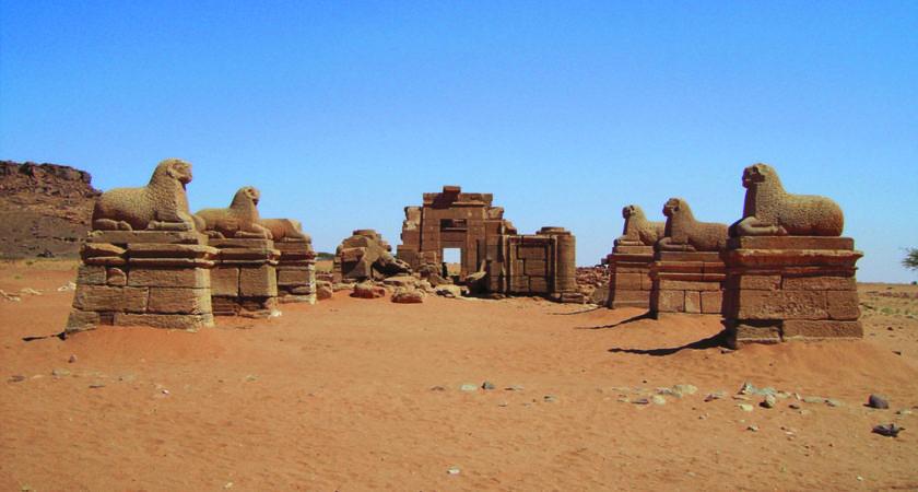 Amun-Tempel in Naga