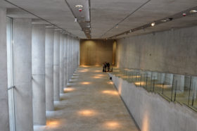 Blick in Raum Kunst und Form ohne Objekte