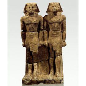 Doppelstatue des Pharao Niuserre