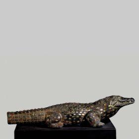 Kultstatue eines Krokodils