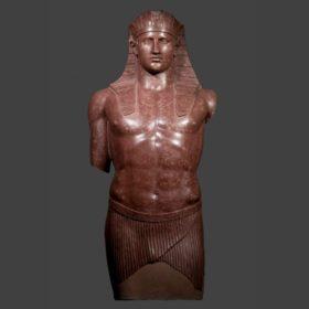 Ägyptisierende Stand-Schreitfigur des Antinoos, Günstling Kaiser Hadrians