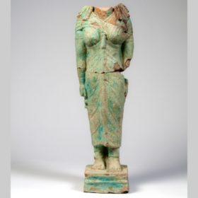 Standfigur der Göttin Isis