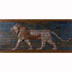 Schreitender Löwe, heiliges Tier  der Göttin Ischtar