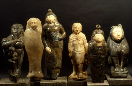 Ägyptisierende Statuetten des Barock