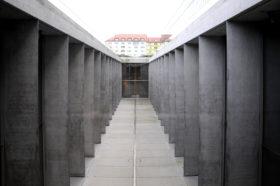 Blick in das Atrium des Museums