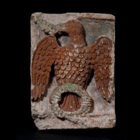 Relieffries mit christlichen Motiven