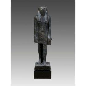 Stand-Schreit-Figur des Gottes Horus