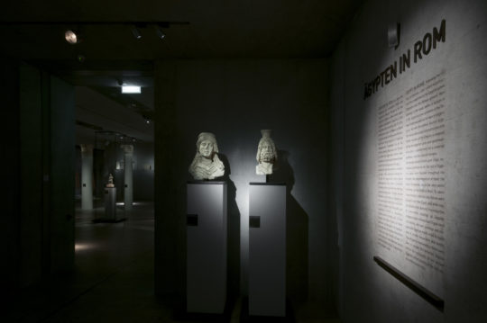 """Ansicht Raum """"Ägypten in Rom"""""""