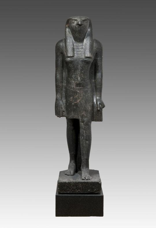Stand-Schreit-Figur des Horus