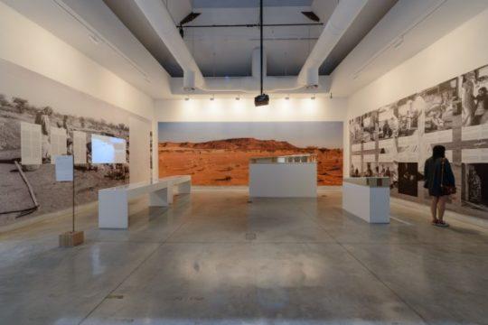 Blick in den zentralen Pavillon auf der Architektur-Biennale