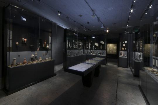 Blick in den Raum Kunstahandwerk
