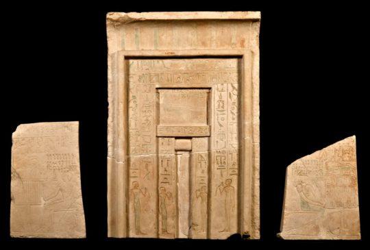 Scheintür der Hathor-Priesterin Chnumit