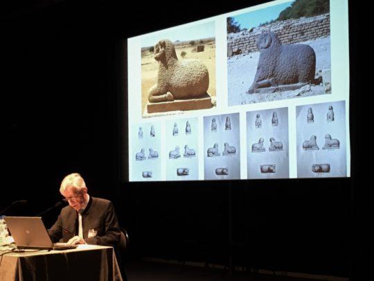 Prof. Wildung beim Vortrag auf der ICNS 2018 in Paris