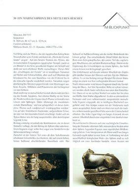 Objektblatt Mähnensphinx