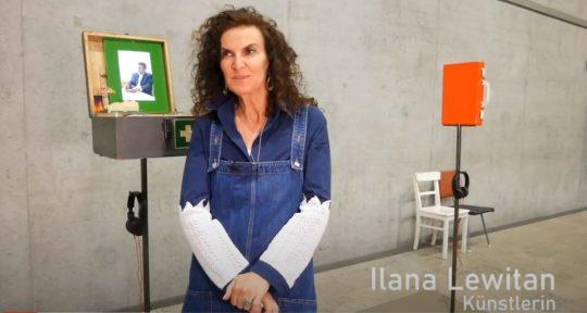 """Interview mit der Münchner Künstlerin Ilana Lewitan zur Sonderausstellung """"Adam, wo bist du?"""""""