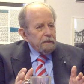 """Interview mit Dr. Henry G. Brandt, Rabbiner, im Rahmen der Sonderausstellung """"Adam, wo bist Du?"""" Laufzeit 17.6.2020 bis 10.1.2021"""