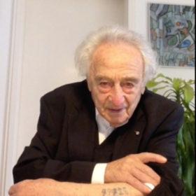 """Interview mit Max Mannheimer, Shoah-Überlebender, Schriftsteller und Maler (1920 – 2016) im Rahmen der Sonderausstellung """"Adam, wo bist Du?"""" Laufzeit 17.6.2020 bis 10.1.2021"""