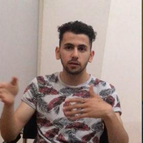 """Interview mit Mohammed Ali Mosavi, Geflüchteter, Auszubildender, im Rahmen der Sonderausstellung """"Adam, wo bist Du?"""" Laufzeit 17.6.2020 bis 10.1.2021"""