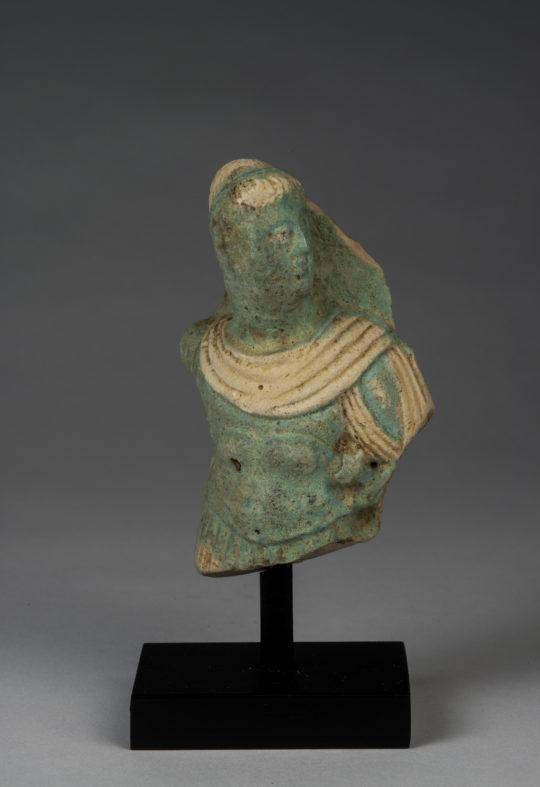 Fayence-Figur eines Ptolemäer-Königs